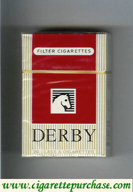 Discount Derby Filter cigarettes hard box