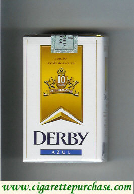 Discount Derby Azul cigarettes soft box