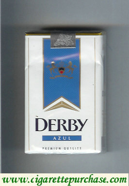 Discount Derby Azul soft box cigarettes