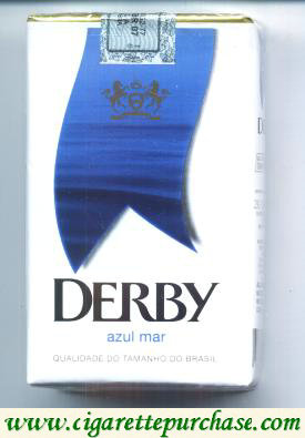 Discount Derby Azul Mar cigarettes soft box