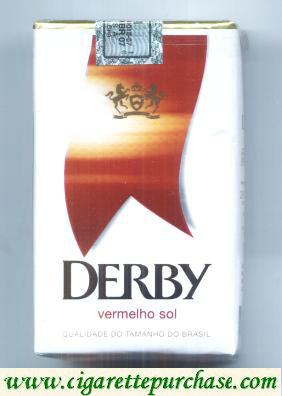 Discount Derby Vermelho Sol cigarettes soft box
