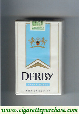 Discount Derby Extra Suave cigarettes soft box