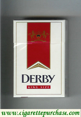 Discount Derby King Size cigarettes hard box