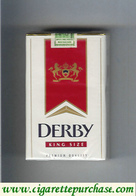 Discount Derby King Size cigarettes soft box