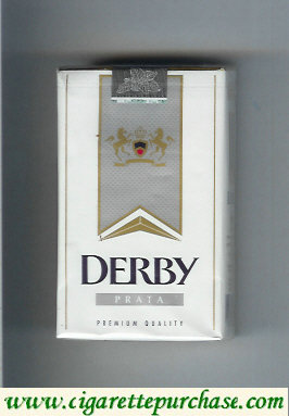 Discount Derby Prata cigarettes soft box