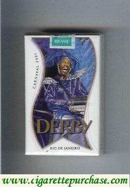 Discount Derby Suave Rio De Janeiro white and blue cigarettes soft box
