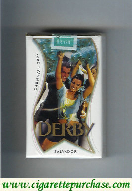 Discount Derby Carnaval 2001 Suave Salvador cigarettes soft box
