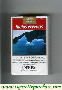 Discount Derby Hielos Eternos King Size cigarettes soft box
