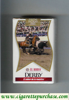 Discount Derby El Rodeo cigarettes soft box