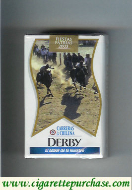 Discount Derby Carreras a la Chilena cigarettes soft box