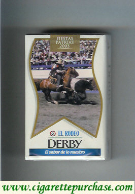 Discount Derby Light El Rodeo cigarettes soft box