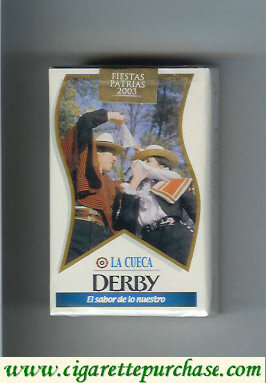 Discount Derby Lights La Cueca cigarettes soft box