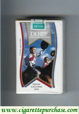 Discount Derby Lights Cavalarianos cigarettes soft box