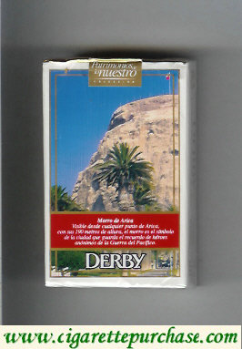 Discount Derby King Size Morro de Arica cigarettes soft box