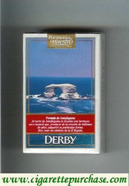 Discount Derby King Size Portada de Antofagasta cigarettes soft box