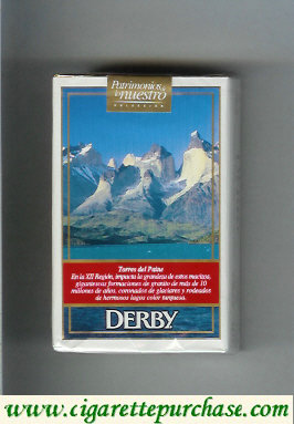 Discount Derby King Size Torres del Paine cigarettes soft box