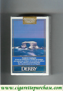 Discount Derby Lights Portada de Antofagasta cigarettes soft box