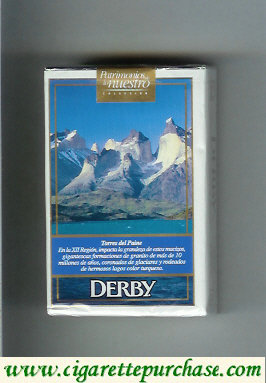 Discount Derby Lights Torres del Paine cigarettes soft box