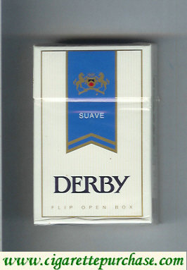 Discount Derby Suave cigarettes hard box