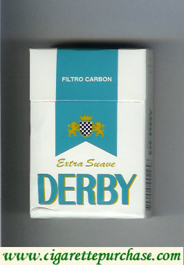 Discount Derby Extra Suave Filtro Carbon cigarettes hard box