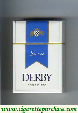 Discount Derby Suave Double Filtro cigarettes hard box