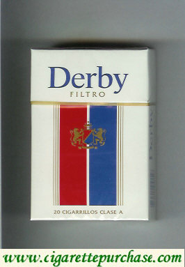 Discount Derby Filtro cigarettes hard box