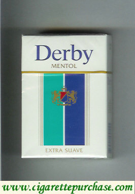 Discount Derby Menthol Extra Suave cigarettes hard box