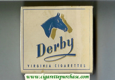 Discount Derby Virginia cigarettes wide flat hard box