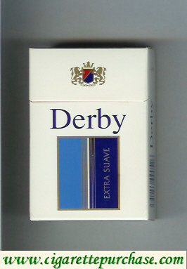 Discount Derby Extra Suave cigarettes hard box