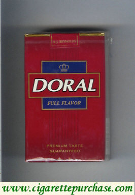 Discount Doral Premium Taste Guaranteed Full Flavor cigarettes soft box