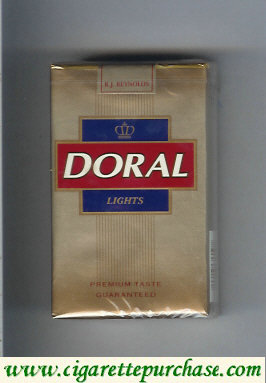 Discount Doral Premium Taste Guaranteed Lights cigarettes soft box