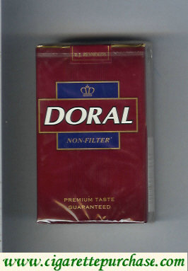 Discount Doral Premium Taste Guaranteed Non-Filter cigarettes soft box