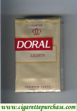 Doral Premium Taste Lights cigarettes soft box