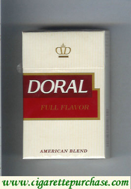 Discount Doral Full Flavor cigarettes hard box