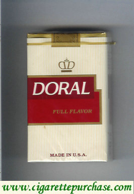 Discount Doral Full Flavor cigarettes soft box