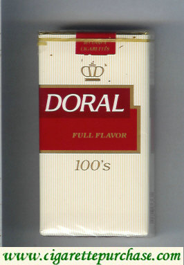 Discount Doral Full Flavor 100s cigarettes soft box