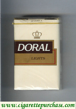 Discount Doral Lights cigarettes soft box