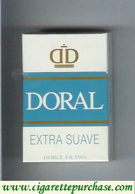 Discount Doral Extra Suave cigarettes hard box