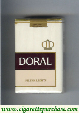 Discount Doral Filter Lights cigarettes soft box