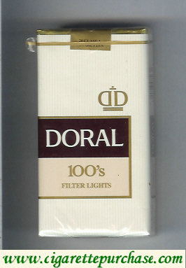 Discount Doral Filter Lights 100s cigarettes soft box