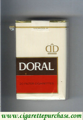 Discount Doral Filter cigarettes soft box
