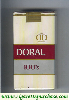 Discount Doral 100s cigarettes soft box