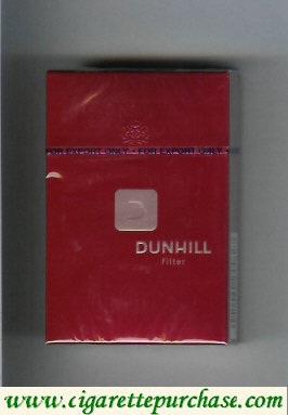 Discount Dunhill D Filter cigarettes hard box