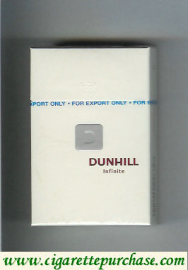 Discount Dunhill D Infinite cigarettes hard box
