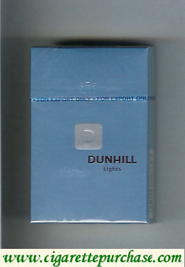 Discount Dunhill D Lights cigarettes hard box