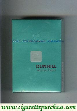 Discount Dunhill D Menthol Lights cigarettes hard box