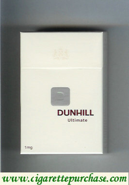 Discount Dunhill D Ultimate cigarettes hard box