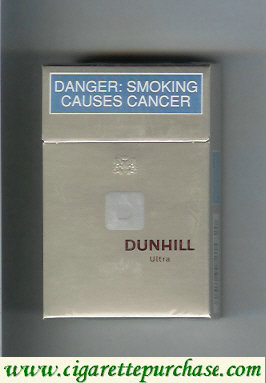 Discount Dunhill D Ultra cigarettes hard box