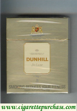 Dunhill De Luxe 1 mg 25 cigarettes hard box