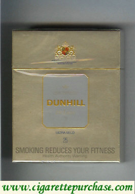 Discount Dunhill De Luxe Ultra Mild 25 Cigarettes hard box